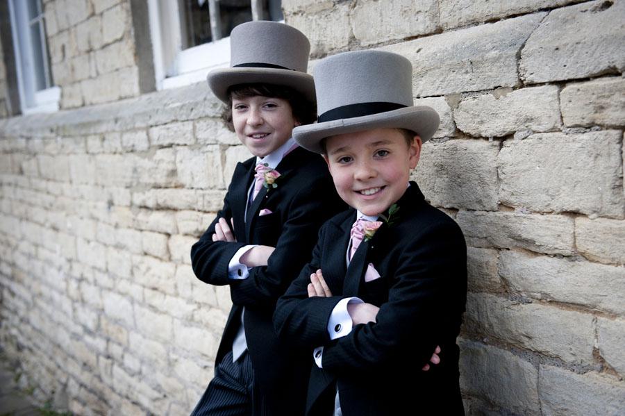 Egypt Mill Hotel Wedding Page Boys