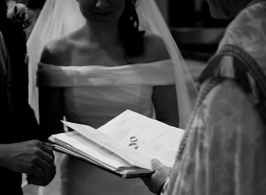 Egypt Mill Hotel Wedding Minchinhampton Service Rings