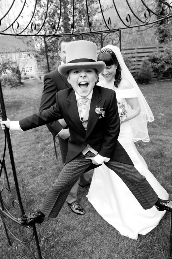 Egypt Mill Hotel Wedding Pageboy