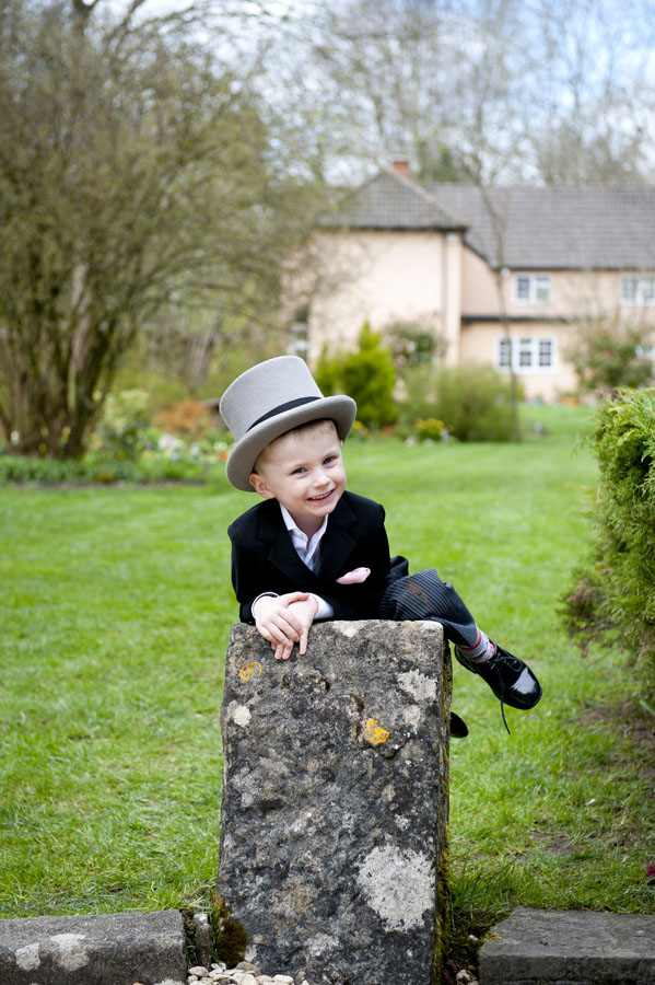 Egypt Mill Hotel Wedding Young Pageboy