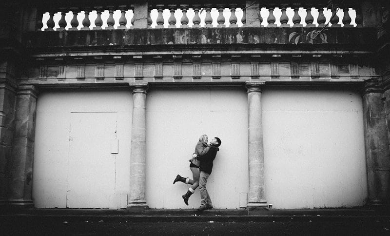 Weddings in Bath couple having fun
