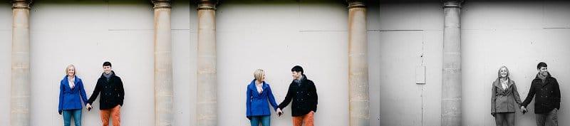 Weddings in Bath couple holding hands