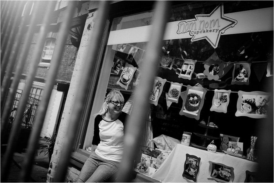 Nom Nom Cupcakery shop owner Emily