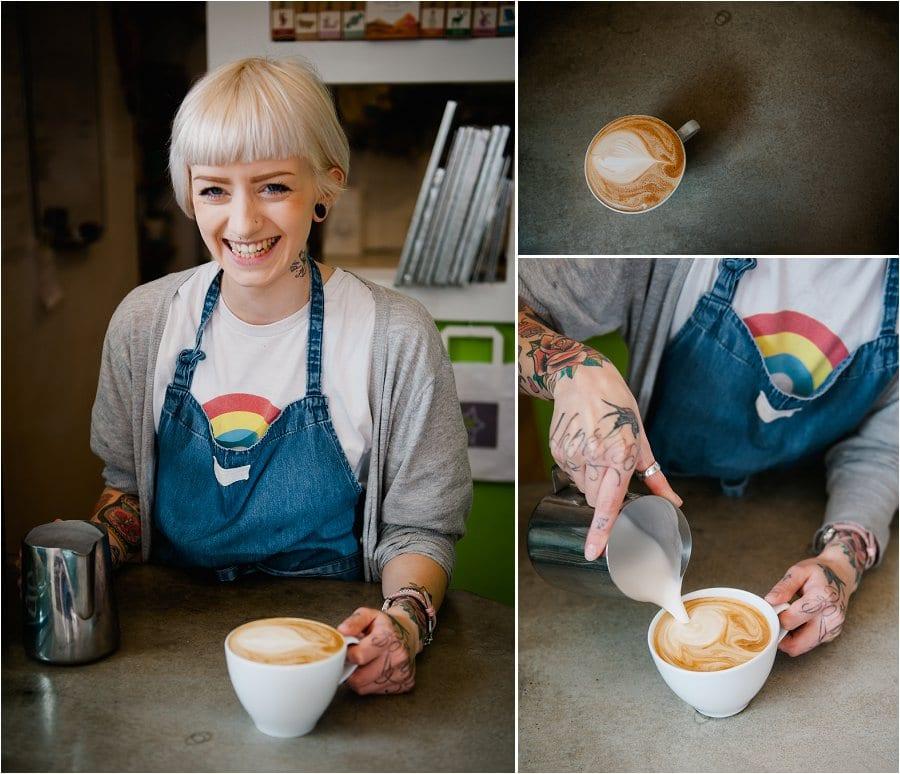 Nom Nom Cupcakery shop assistant portrait