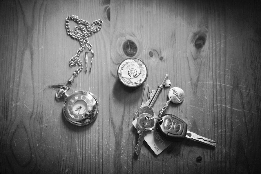 Wick Farm groom keys and watch photo