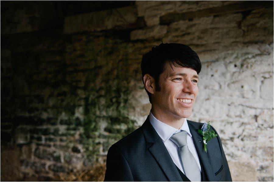Wick Farm groom in soft light photo