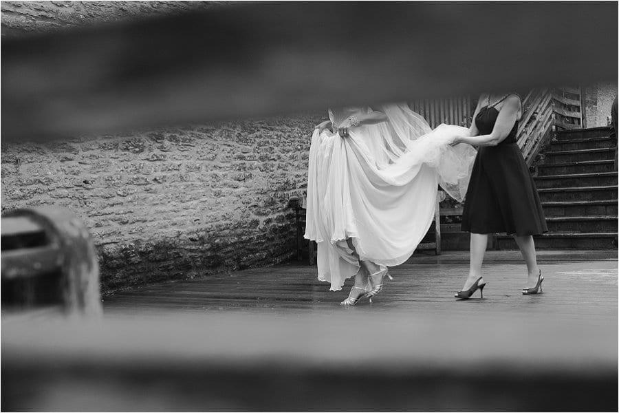Wick Farm repotage wedding photo