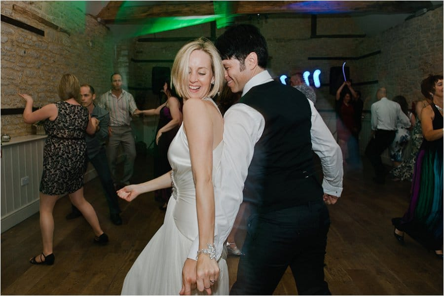 Wick Farm wedding dancefloor photo