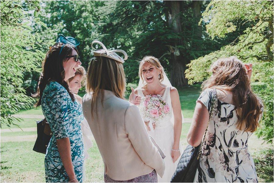 Westonbirt School bridal party