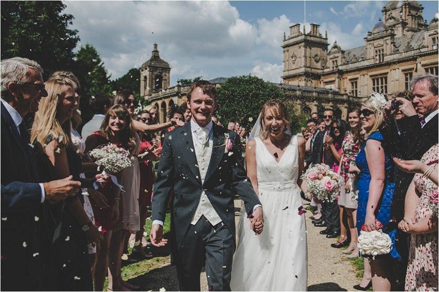 Westonbirt School Wedding Confetti