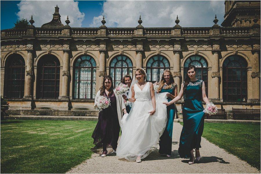 Westonbirt School Wedding Girls