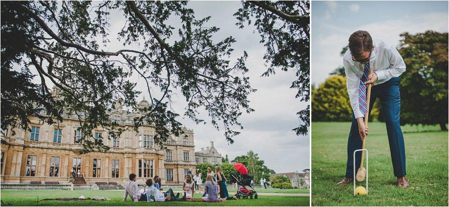 Westonbirt School Wedding Guests on lawn
