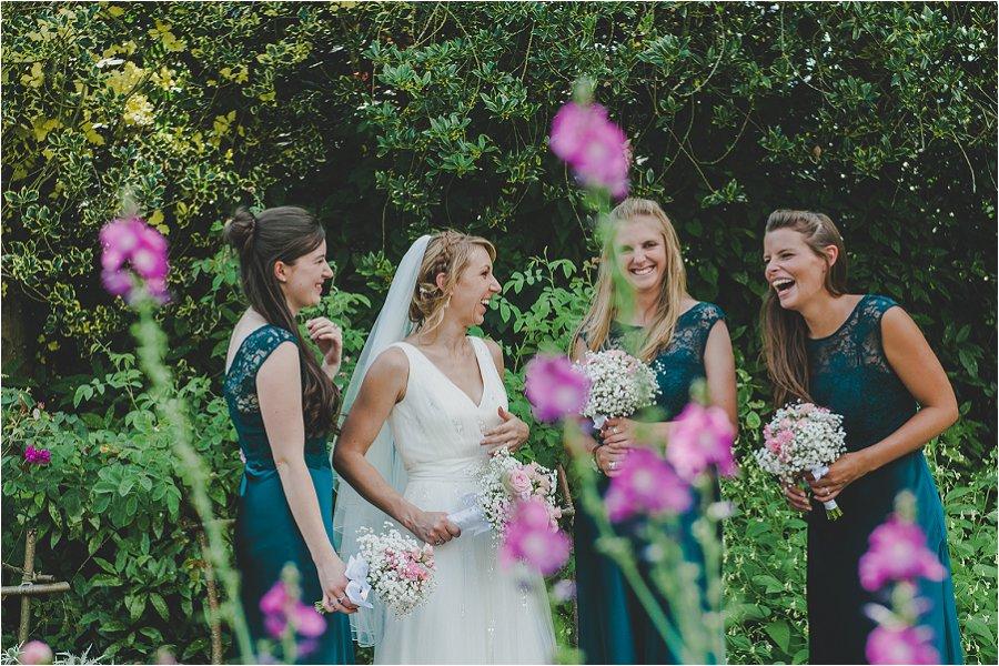 Westonbirt School Wedding Laughter