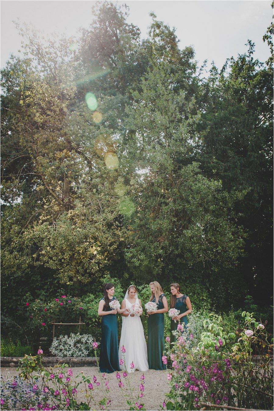Westonbirt School Wedding Bridesmaids Portrait