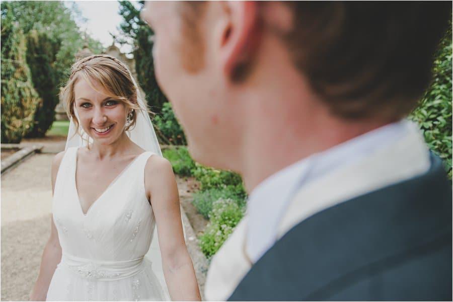 Westonbirt School Wedding Bride and Groom Portrait