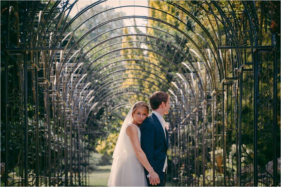 Westonbirt School bride and groom