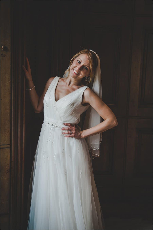 Westonbirt School Wedding Bridal Portrait