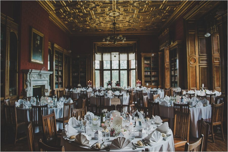 Westonbirt School Wedding Table