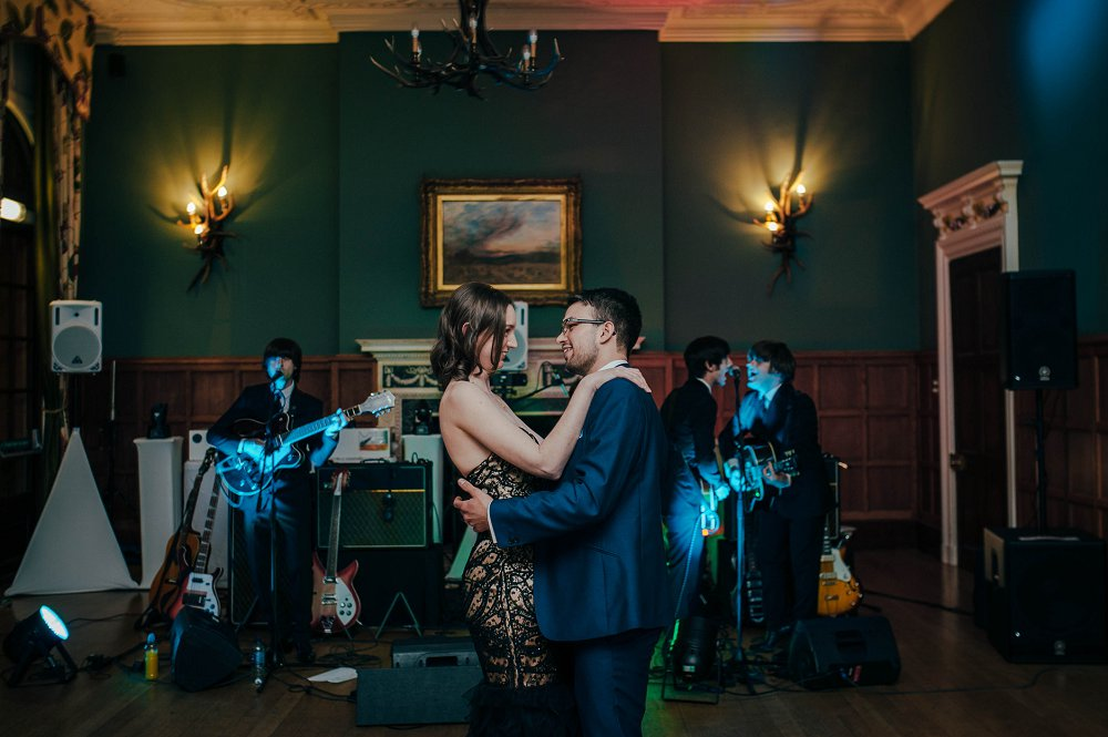 Eynsham Hall wedding photography first dance