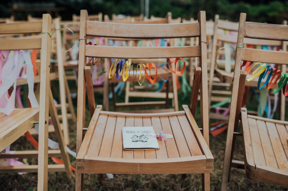 Wyldwoods Wedding Venue Chairs Detail