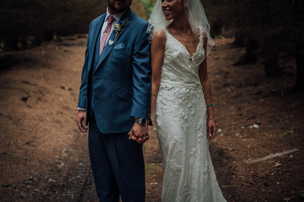 Wyldwoods modern and unique wedding photography