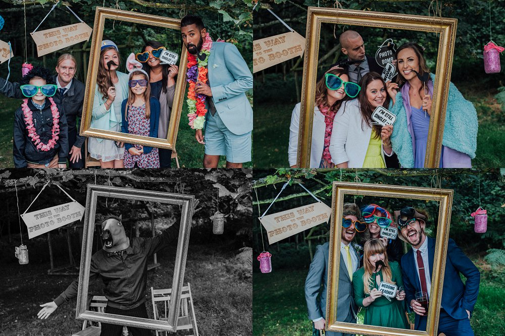Wyldwoods fun photo booth montage