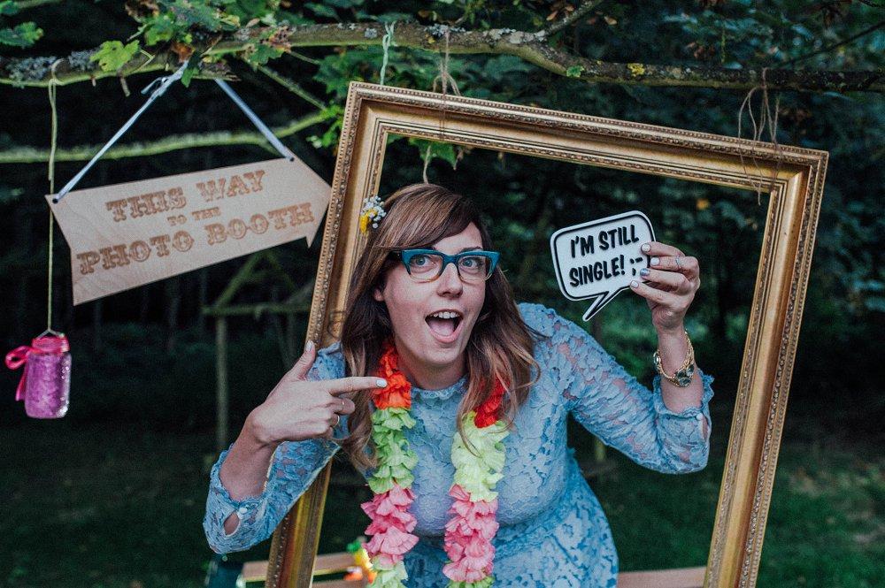 Wyldwoods fun photo booth photo