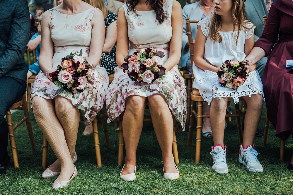 Maunsel House bridesmaids detail photo