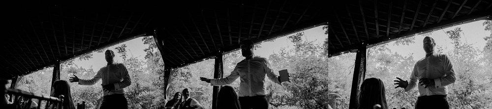 Maunsel House wedding speeches photo