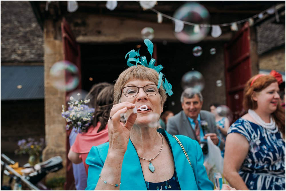 Blowing bubbles at Cogges Manor Farm photo