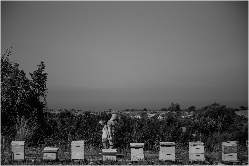Cyprus Wedding Photography engagement session beehives