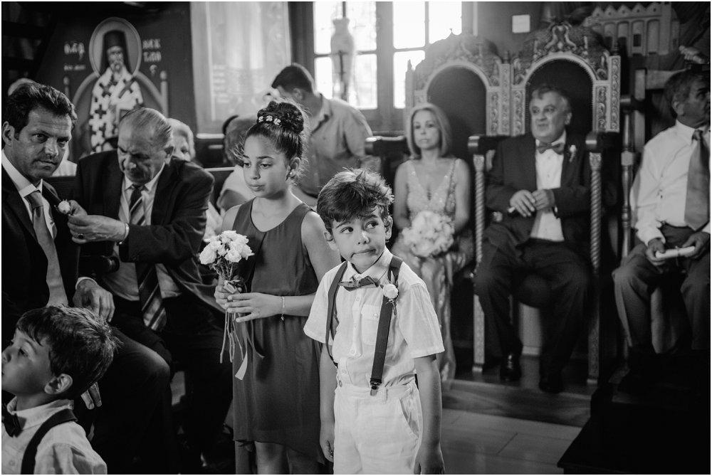 Traditional Greek Wedding Ceremony inside Church