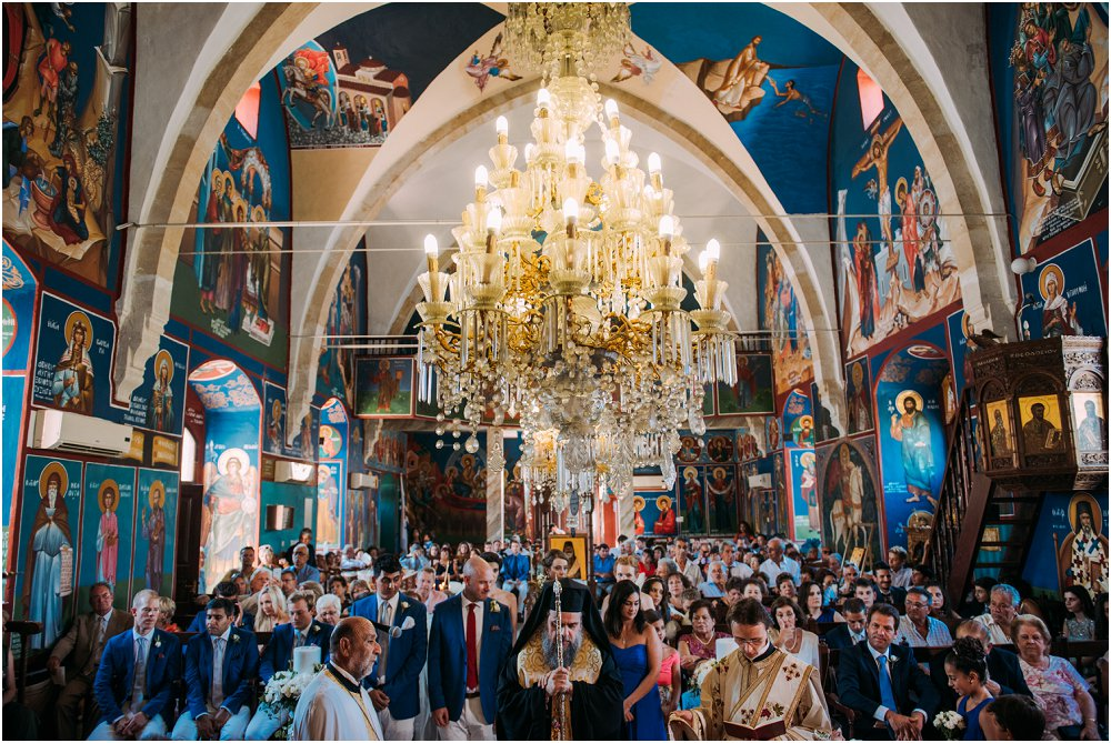 Anassa Hotel Cyprus Wedding inside Orthodox Church