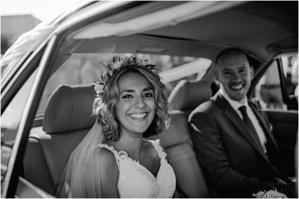 Anassa Hotel Cyprus Neo chorio Bride in car