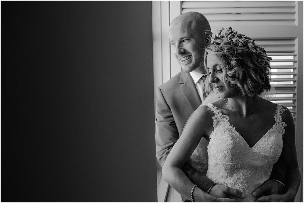 Anassa Hotel Cyprus bride and groom in wedding suite