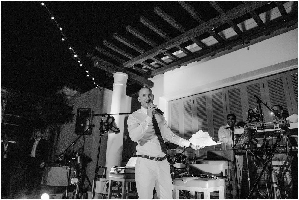 Anassa Hotel Cyprus wedding speeches photo