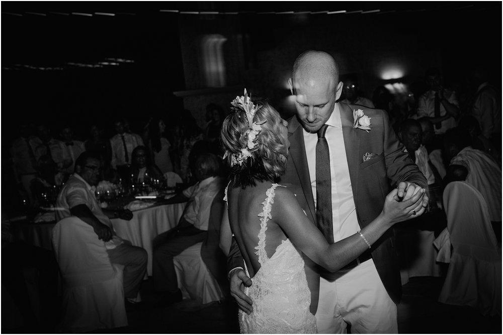 Anassa Hotel Cyprus wedding first dance photo