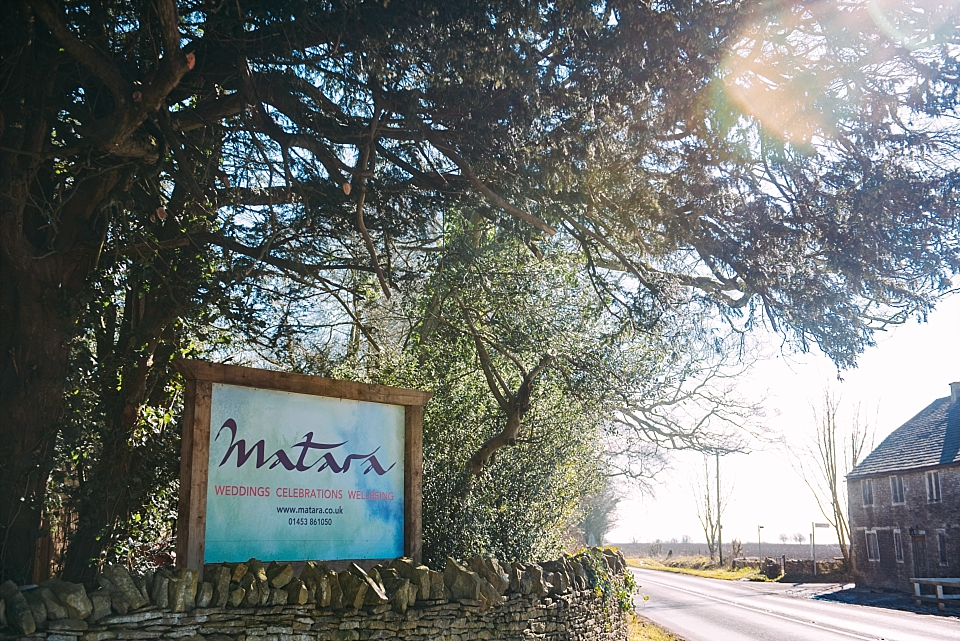The Matara Centre sign from entrance