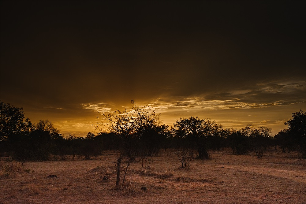 Personal photography Tanzanian sunset