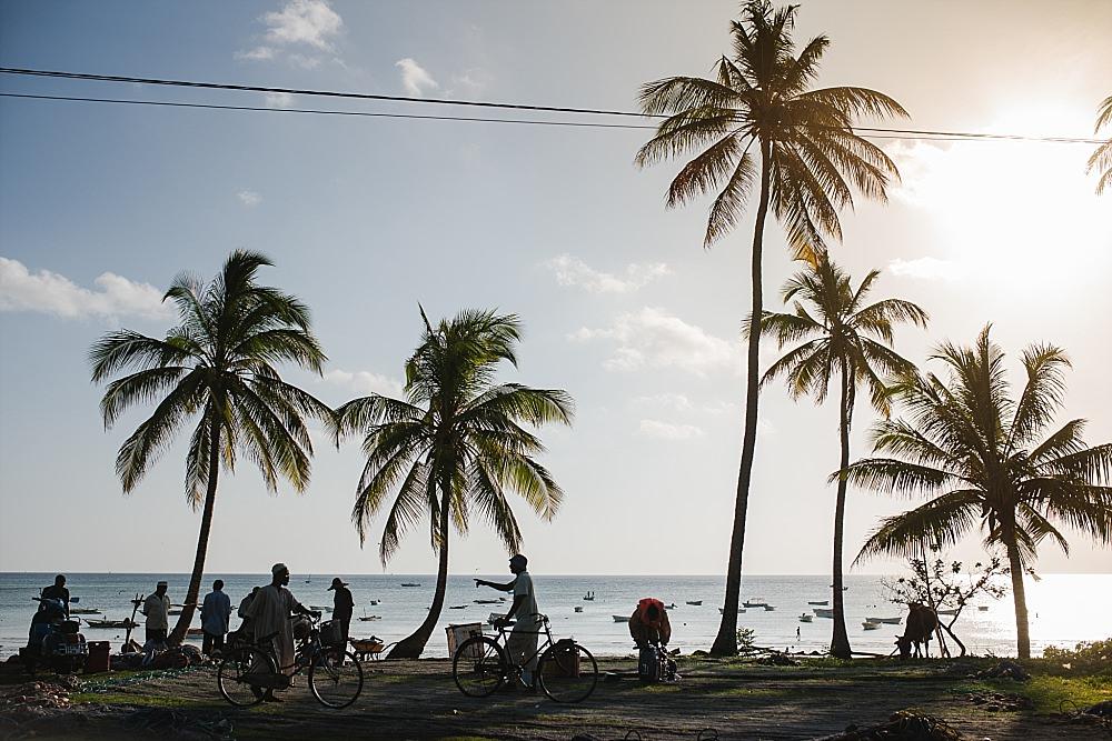 Personal photography Zanzibar fisherman scene