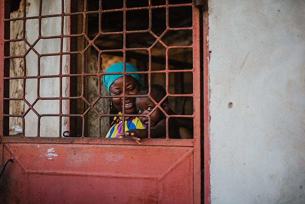 Personal photography Zanzibar mother with baby