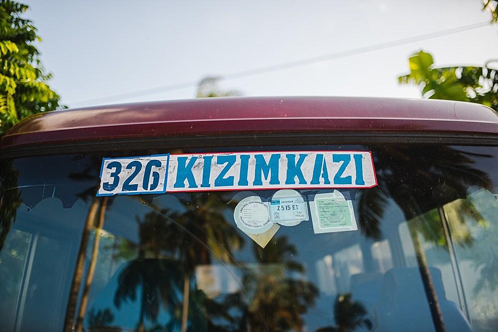 Personal photography Zanzibar Kizimkazi bus