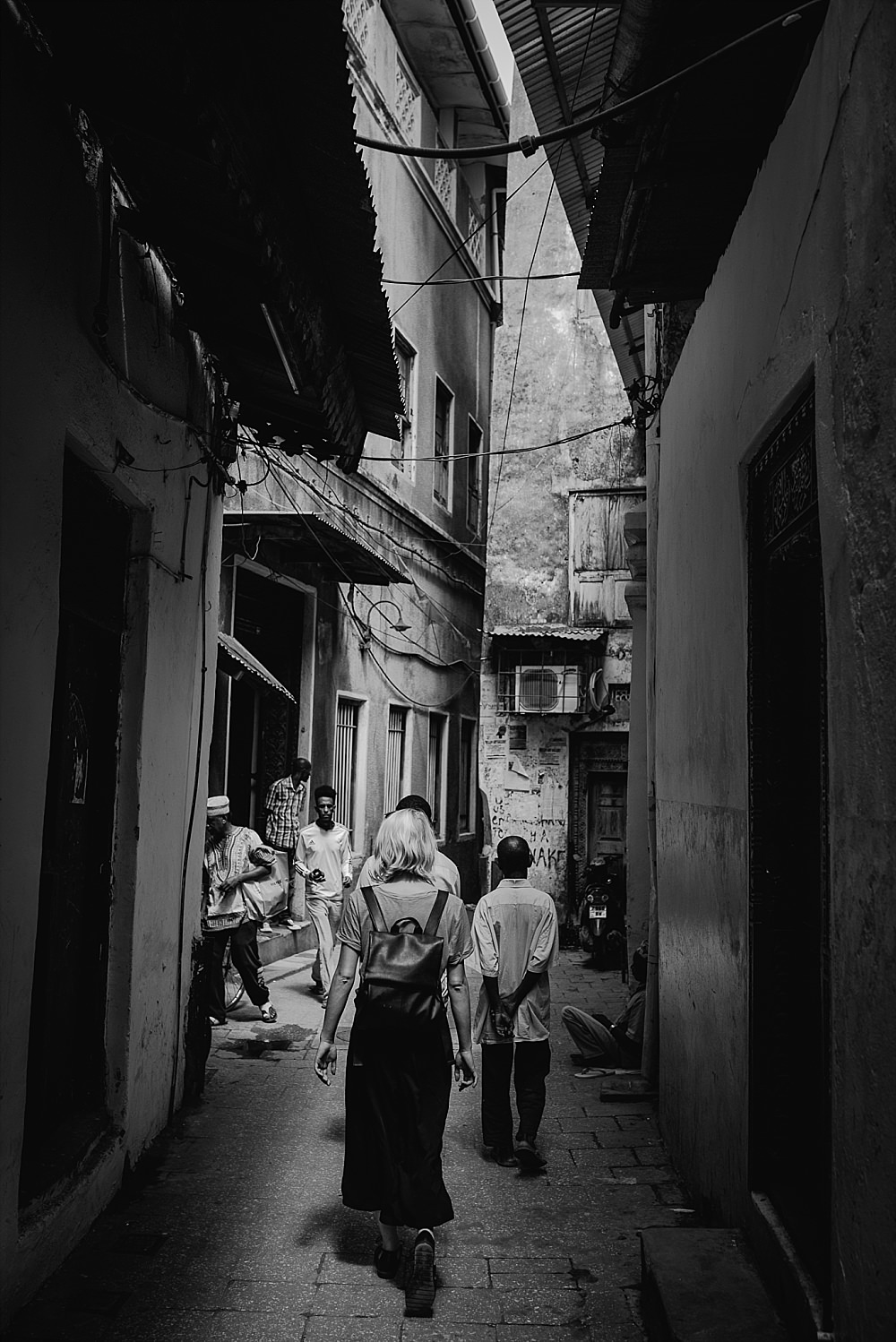 Personal photography blog Stone Town streets