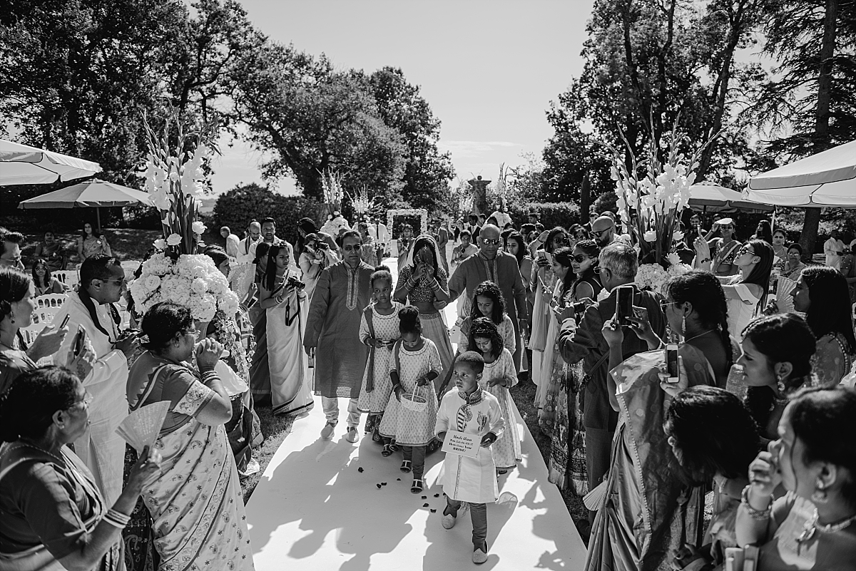 Indian Wedding Photography -Hindu ceremony in France -Chateau De Malliac