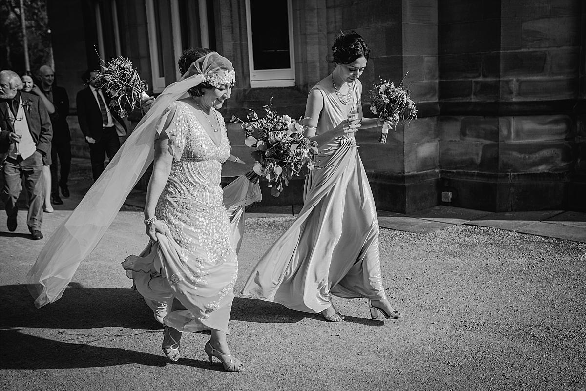 Hampton Manor Wedding Photography vintage styled bride