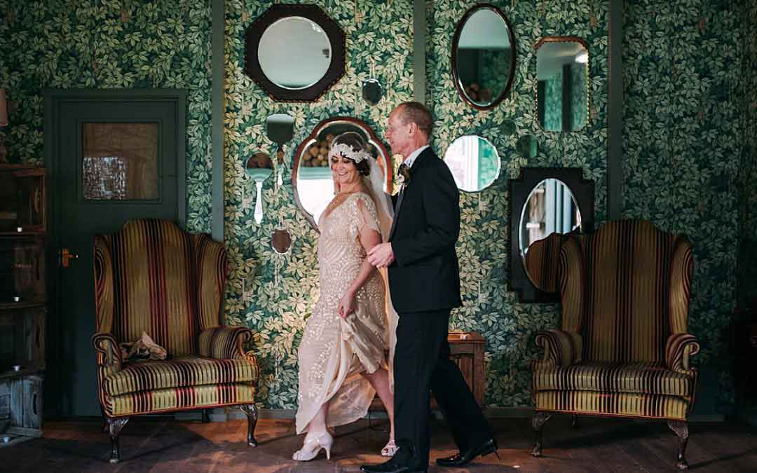 Hampton Manor Wedding Photography | A 1920's fusion theme