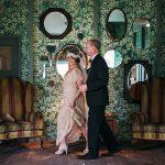 1920s themed wedding at Hampton manor