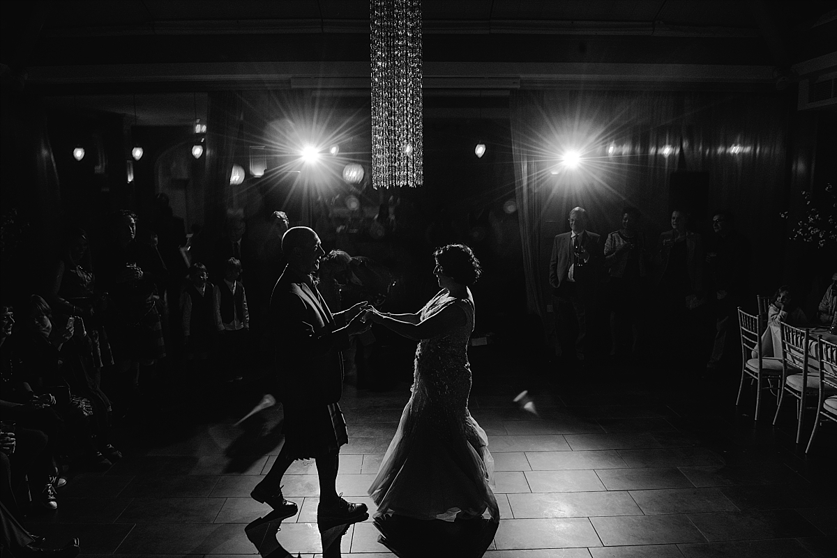 First dance Hampton Manor Wedding Photography