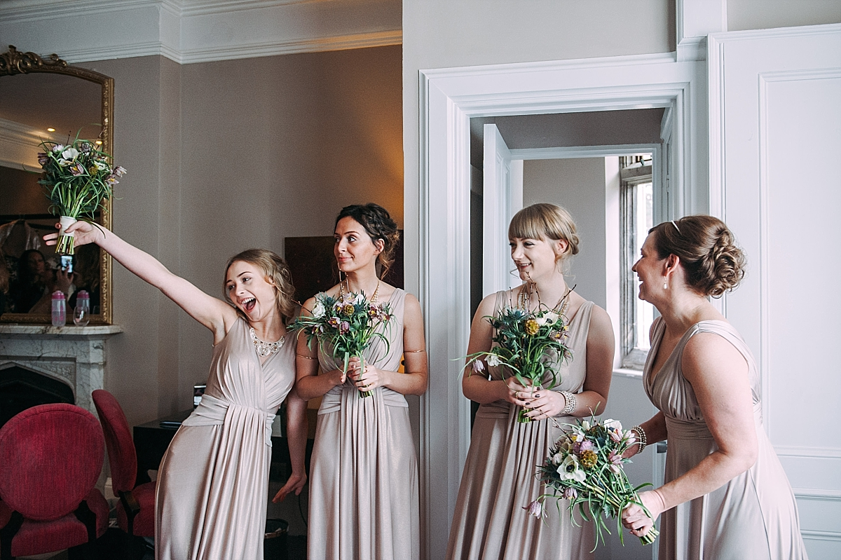 Hampton Manor Wedding Photography bridesmaids