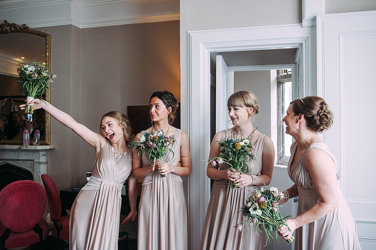 Hampton Manor Wedding bridesmaids